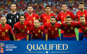 Spain National Team 2018 FIFA World Cup