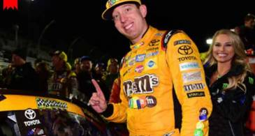 Blessed with $50 million Net worth, Stock Car Racer Kyle Busch is living a Lavish Life. Know about his Wife and Family