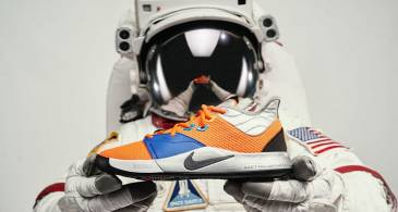 Take A Look At Paul George's NASA-Inspired Nike PG3  As It Lays Bare