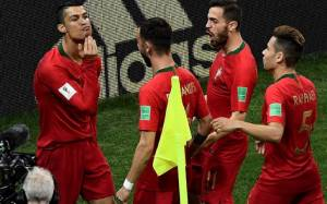 That's So Chinious Of Ronaldo, But Why did Cristiano Ronaldo Stroke his Chin After Scoring for Portugal?