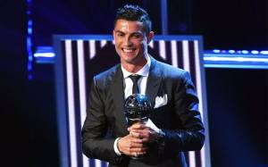 The Best FIFA Football Awards: Ronaldo named the Best FIFA Men's Player