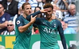 Tottenham Star Dele Alli with Yet another Celebration