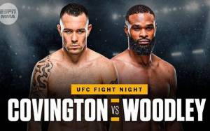 Tyron Woodley talks about Mentoring Colby Covington in his Initial Days