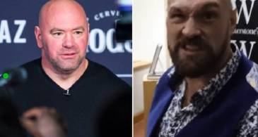 Tyson Fury responds to Dana White's advice and said that her would smash him for free