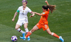 United State Wins Its Fourth Fifa Women's Worldcup 2019, in European Soil