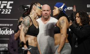 Video Report: Cris Cyborg and Dana White Confrontation in backstage at UFC 240