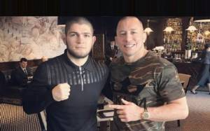Zahabi: Georges St-Pierre Vs Khabib at 165 pounds Is The Best Fight For GSP At The Moment